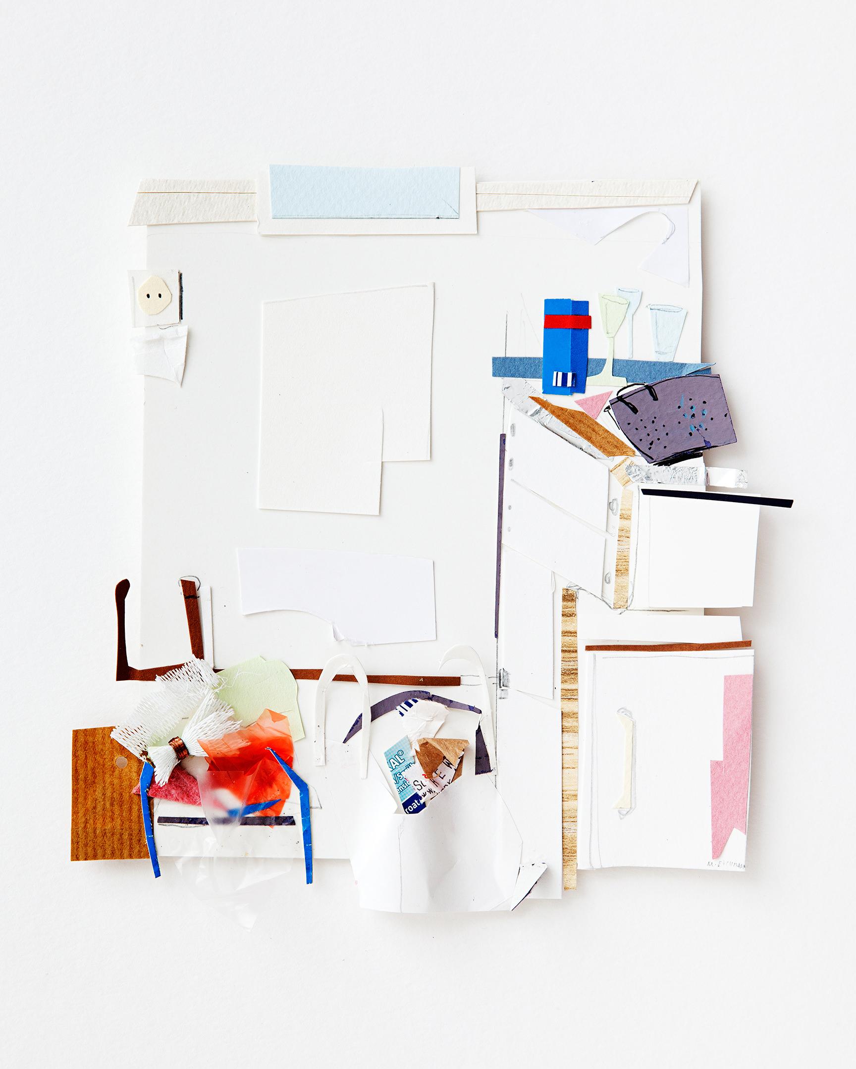 ATELIER, INTERIEUR / PAPERWORKS2015 – MARION EICHMANN
