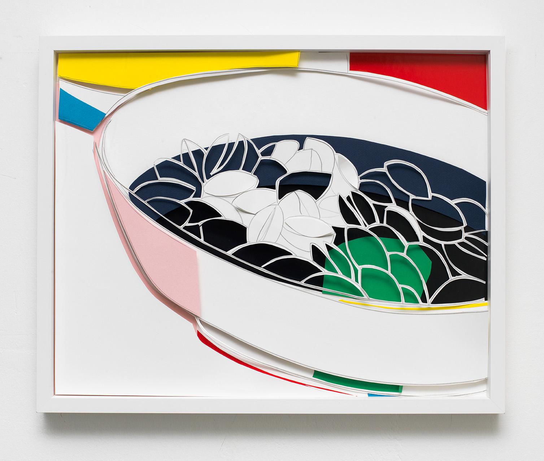 """MARION EICHMANN """"PISTAZIEN 2"""" 2017 40 x 50"""