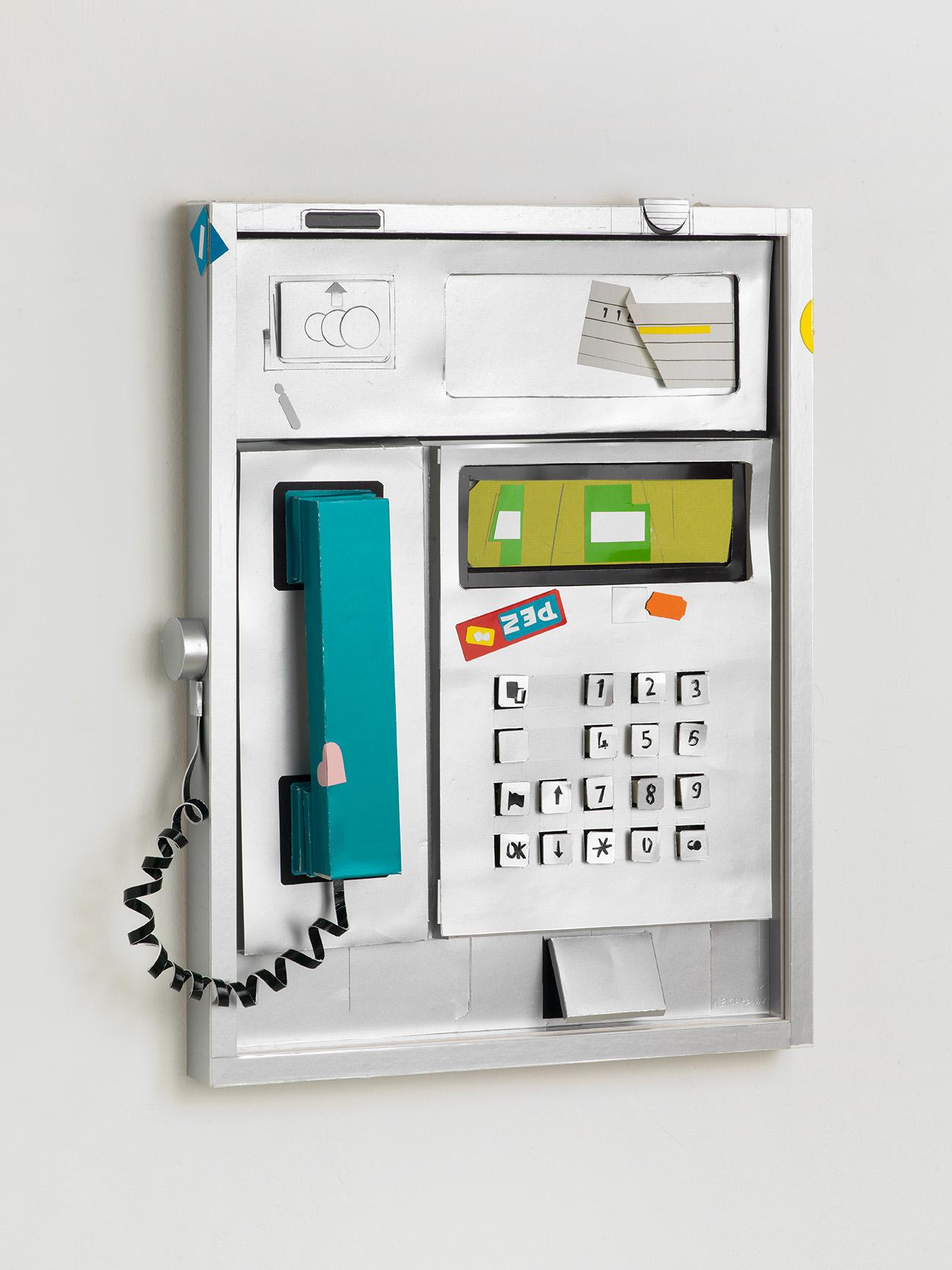 ARION EICHMANN I TELEFON I 42 x 37 x 5 I 2017 I PAPIER